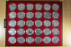 German Empire - collection of 3 Mark (30 pieces)