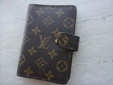 Louis Vuitton - Vintage Monogram address book, calendar.