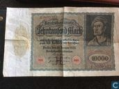 Reichsbanknote 10 000 Mark 1922