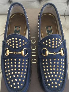 Gucci - unisex horsebit loafers - 60th anniversary - size 7 (41)