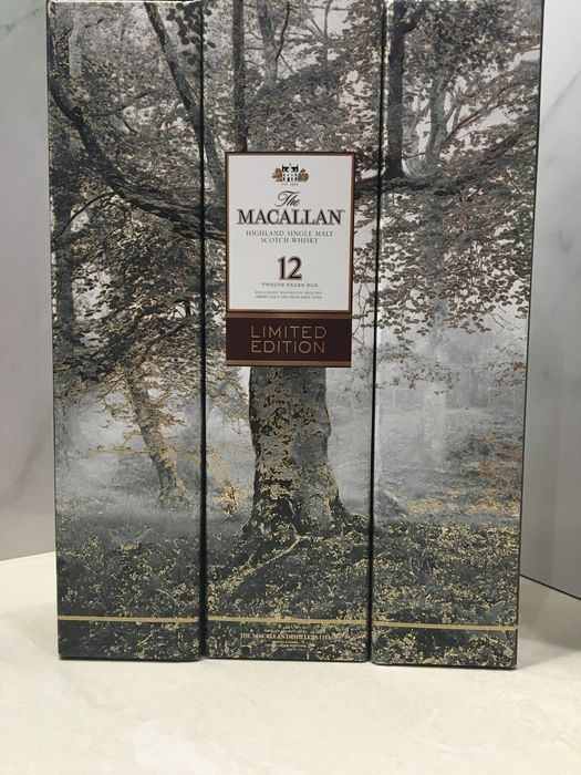 3 bottles - Macallan 12 Sherry Cask Limited Edition by Albert Watson