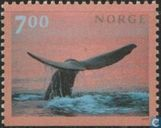 Timbres-poste - Norvège - cachalot