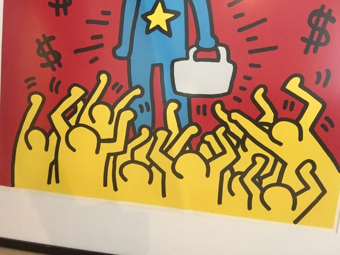 Keith Haring - Playboy 3 (Excellence Saves) - Catawiki