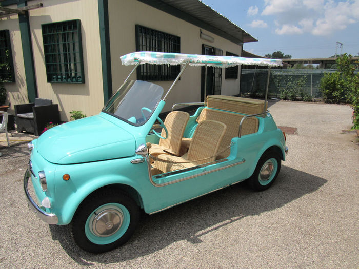 fiat 500 f spiaggina beach car 1967 catawiki. Black Bedroom Furniture Sets. Home Design Ideas