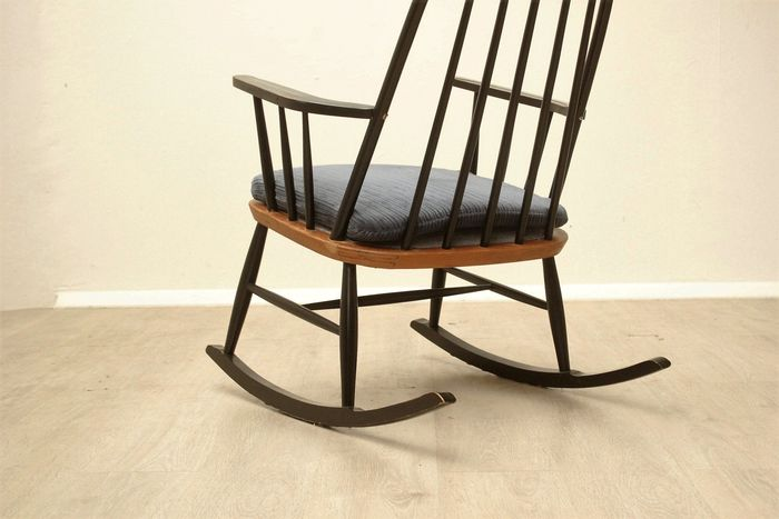 rocking chair mill sime style scandinave catawiki. Black Bedroom Furniture Sets. Home Design Ideas
