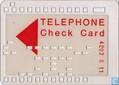 Oudste item - WM'74 Telephone Check Card