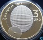 "Slovénie 3 euro 2012 (BE) ""100th Anniversary of the first - ever Slovenian Olympic Gold Medal"""