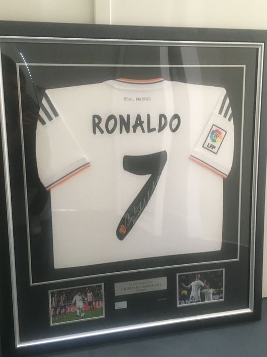 best sneakers 0294b 9250a Cristiano Ronaldo signed shirt 2013/2014 Real Madrid CL - Catawiki