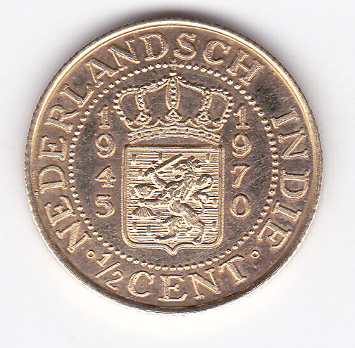 Dutch east indies medal 1 2 cents 1945 1970 gold catawiki for 1945 dutch east indies cuisine