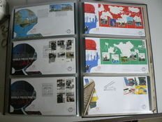 The Netherlands 1963-2005 – Collection of First Day Covers in three Davo albums