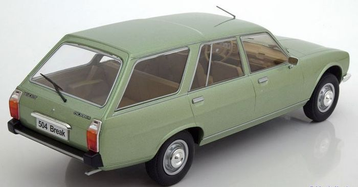 modelcar group scale 1 18 peugeot 504 break catawiki. Black Bedroom Furniture Sets. Home Design Ideas