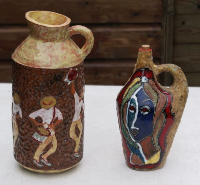 Lot With Two Italian Vases Catawiki
