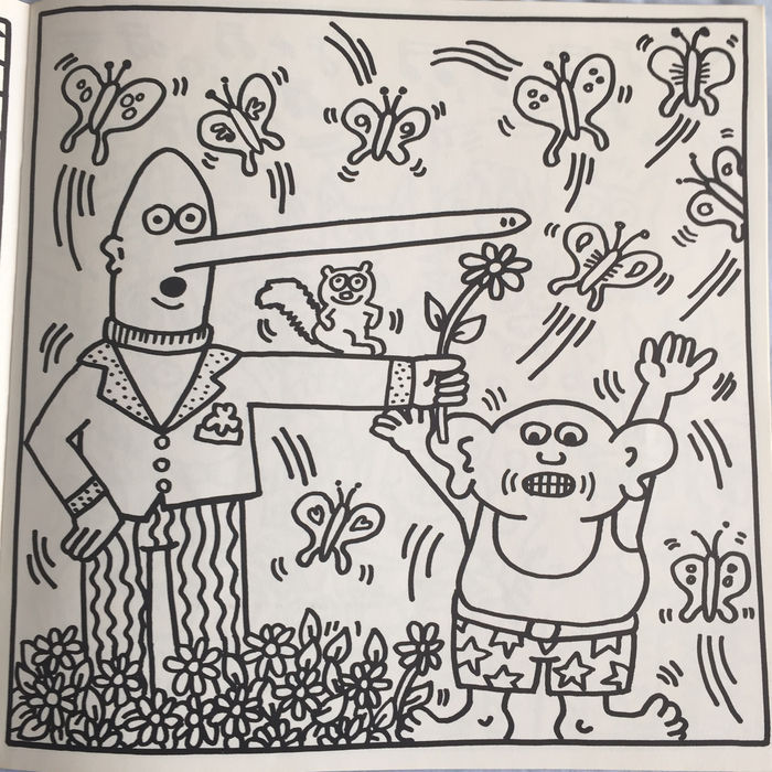 Keith Haring - Coloring Book - 1985 - Catawiki