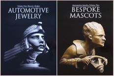 Automotive Jewelry  - Volume 1 & 2 - Famous automobile photographer Michael Furman (Mascots, Badges and Ornament)