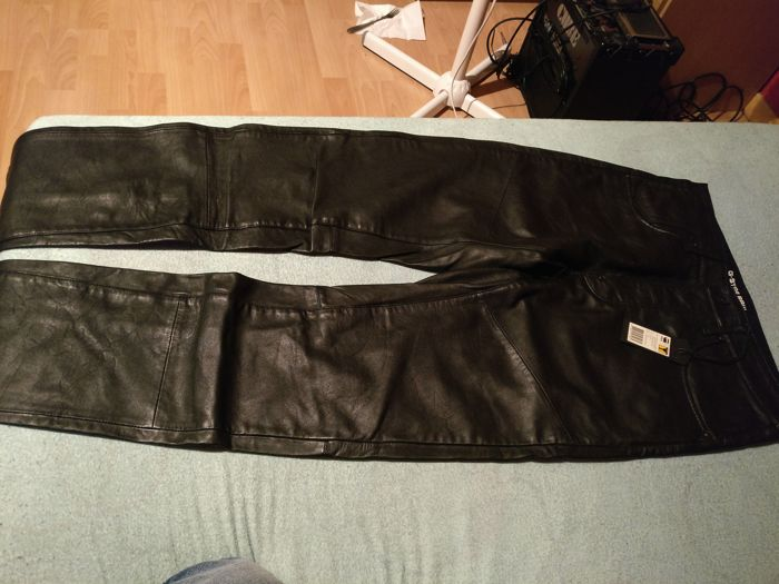 b62d68a77ee G-Star Raw - Leather Trousers - Catawiki