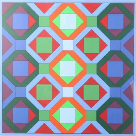 Victor Vasarely - Hommage a J.S.Bach