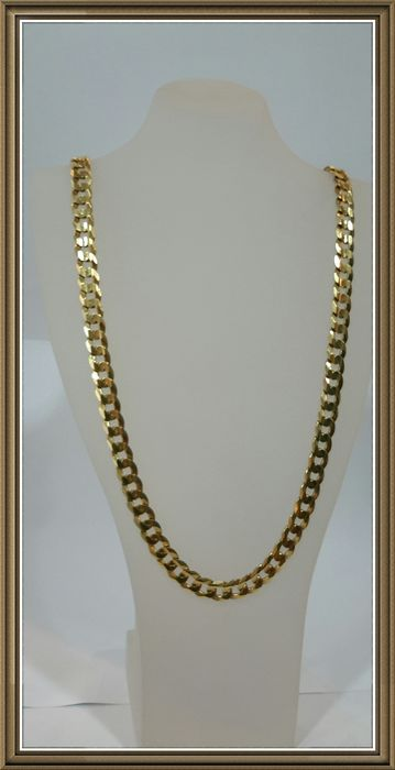 Chain necklace in 18 kt gold