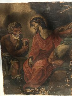 Oil on canvas, Italy - Passion of Christ - 17th-18th century