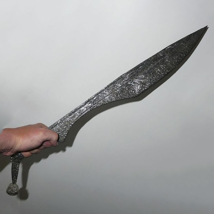 Greek Sword Kopis Machaira Falcata Of A Hoplite Made