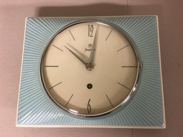 Magnificent Junghans Kitchen Clock Is Completely Made Of Ceramics Download Free Architecture Designs Rallybritishbridgeorg
