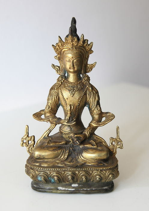Bronze Vajrasattva - China - Late 20th century