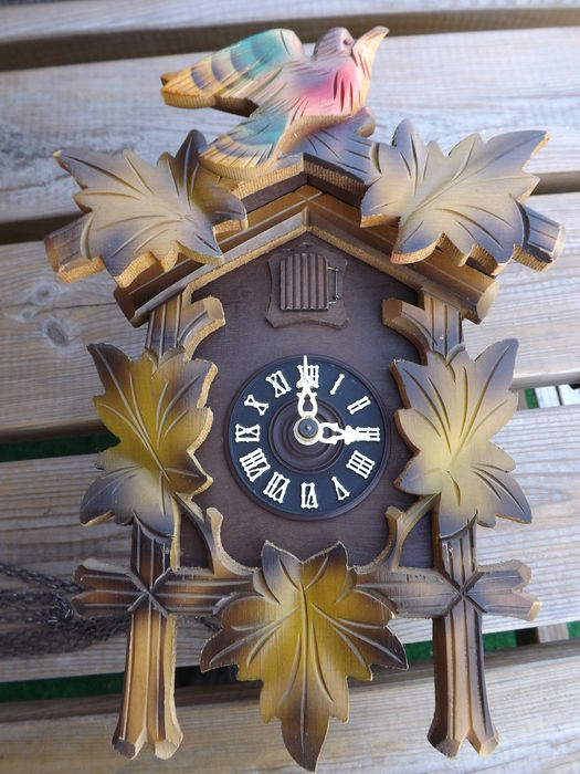 Cuckoo clock with pendulum august schwer regula g m circa 1960 catawiki - Cuckoo clock pendulum ...