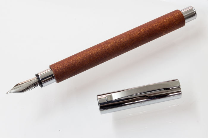 Graf Von Faber Castell Ambition Pearwood Fountain Pen