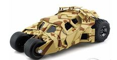 Batman The Dark Knight Rises - Hot Wheels -Scale  1/18 - Camouflage Tumbler