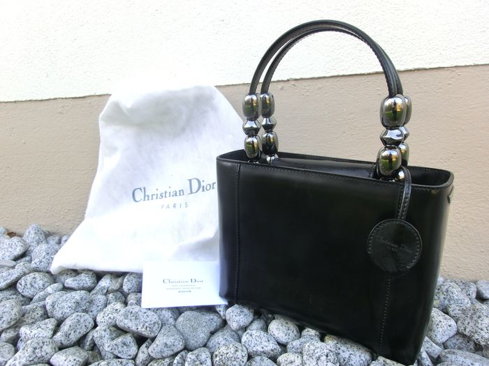 christian dior hand tasche mit dust bag catawiki. Black Bedroom Furniture Sets. Home Design Ideas