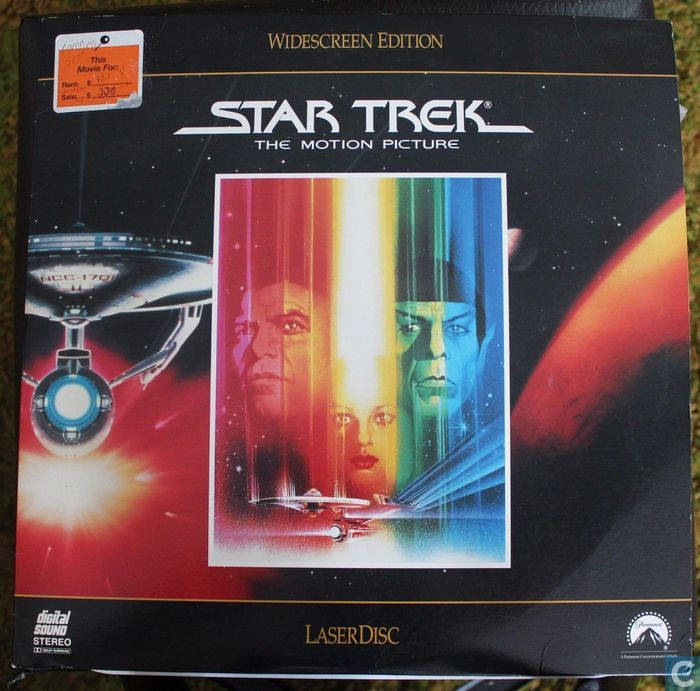 star trek the motion picture laserdisc