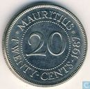 Maurice 20 cents 1987