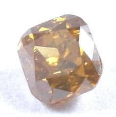 Diamante fancy naturale arancione tendente al marrone da 0,31 ct con certificato IGI