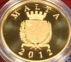 "Malta 50 euro 2012 (BE) ""65th anniversary of the death of Antonio Sciortino"""