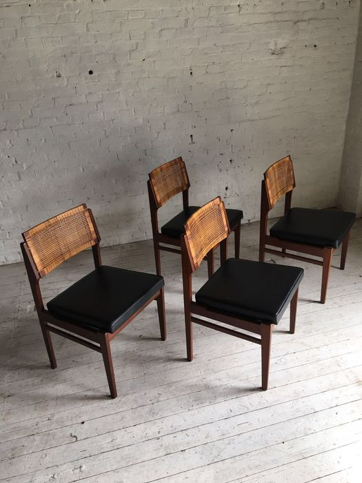 Topform 4 dining room chairs catawiki for Dining room furniture auctions