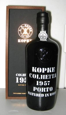 1957 Kopke Colheita Port - 1 bottle in OWC