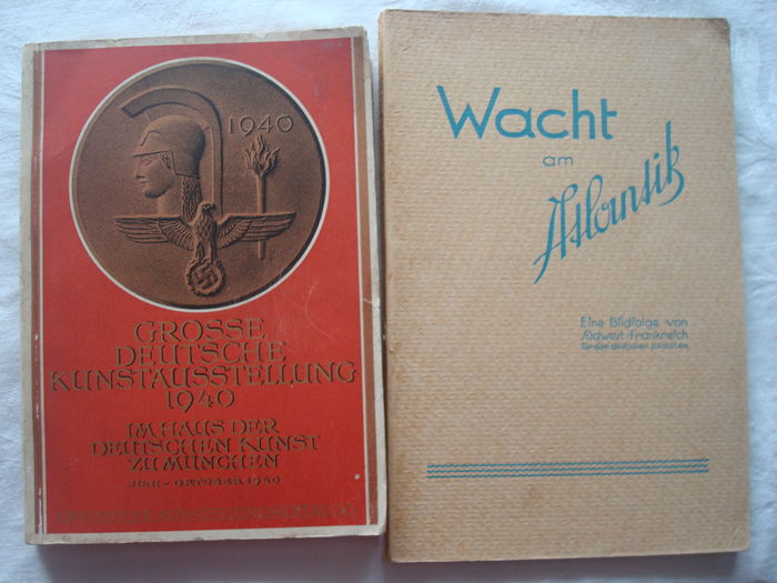 Third Reich; Lot of 2 books – 1940