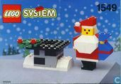 Lego 1549 Santa and Chimney