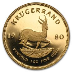 South Africa – 1 Krugerrand 1980 – 1 oz of gold