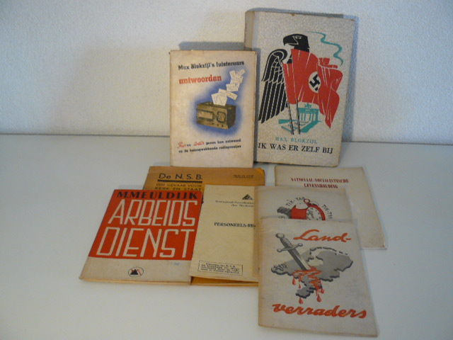 NSB; Lot with 11 books and brochures - 1934/1945