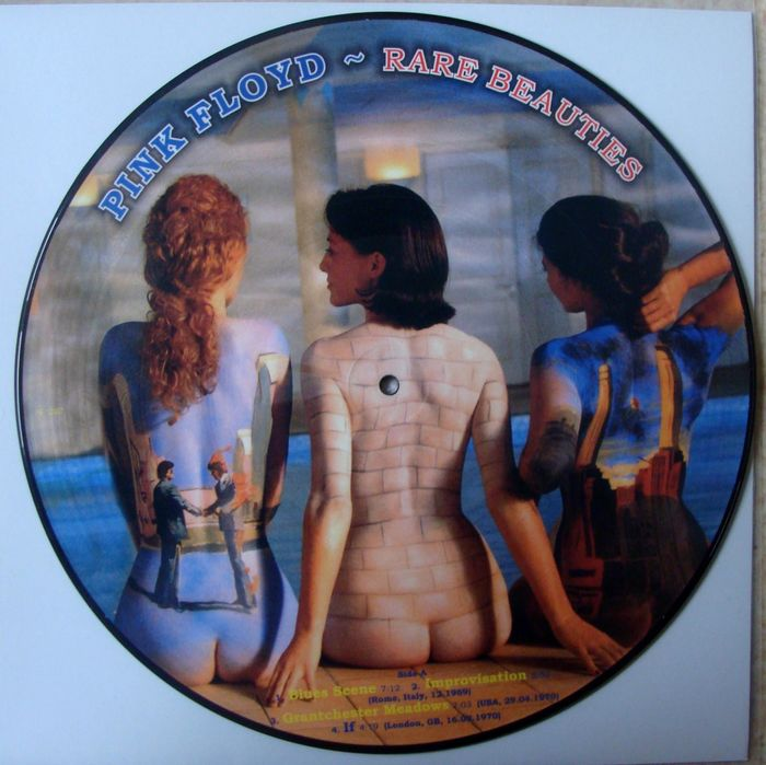 Pink Floyd Rare Beauties Picture disc