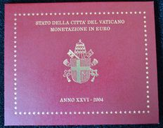 Vatican – year pack/ year collection 2004, Johannes Paulus II