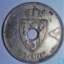 Norway 50 øre 1922 (with hole)