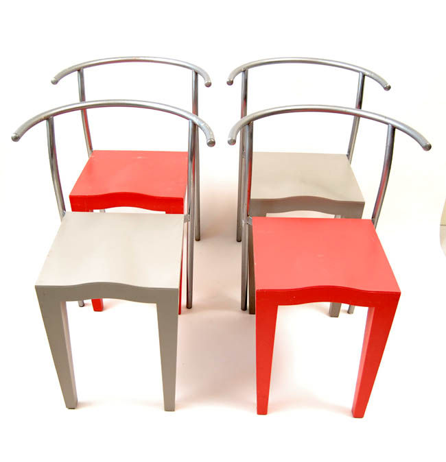 Philippe Starck By Kartell U2013 4 X Dr. Glob Chairs.