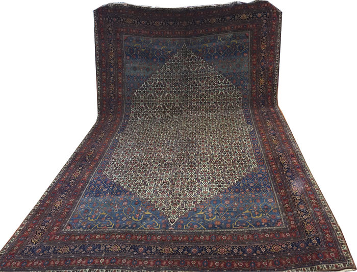 tapis persan bijar de grande taille antique extraordinaire et rare vers 1880 catawiki. Black Bedroom Furniture Sets. Home Design Ideas