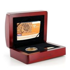The Netherlands - 10 Euros 2004 'Kingdom status' in coffer - gold