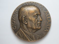Kingdom of Italy – 1938 Medal to Giovanni Battista Allaria, author of 'L'azione del regime Fascista in difesa della Razza' (The Fascist regime's call to action in defense of the Race)