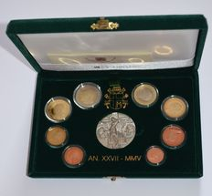 Vatican – Year pack 2005 (Proof) – Johan Paul II
