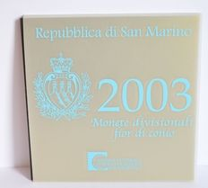 San Marino - year set of euro coins 2003