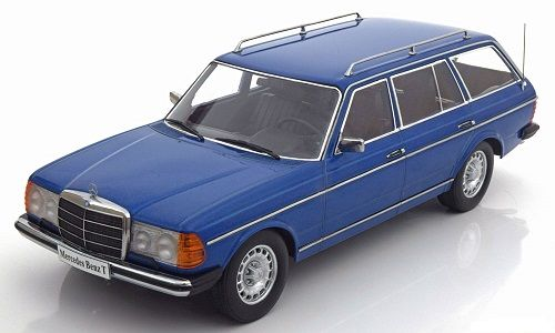 KK-Scale - Scale 1/18 - Mercedes-Benz 250T W123 Kombi 1978-1982 - Colour Blue