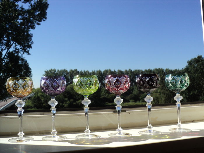 WMF - 6 Crystal Cabinet wine glasses